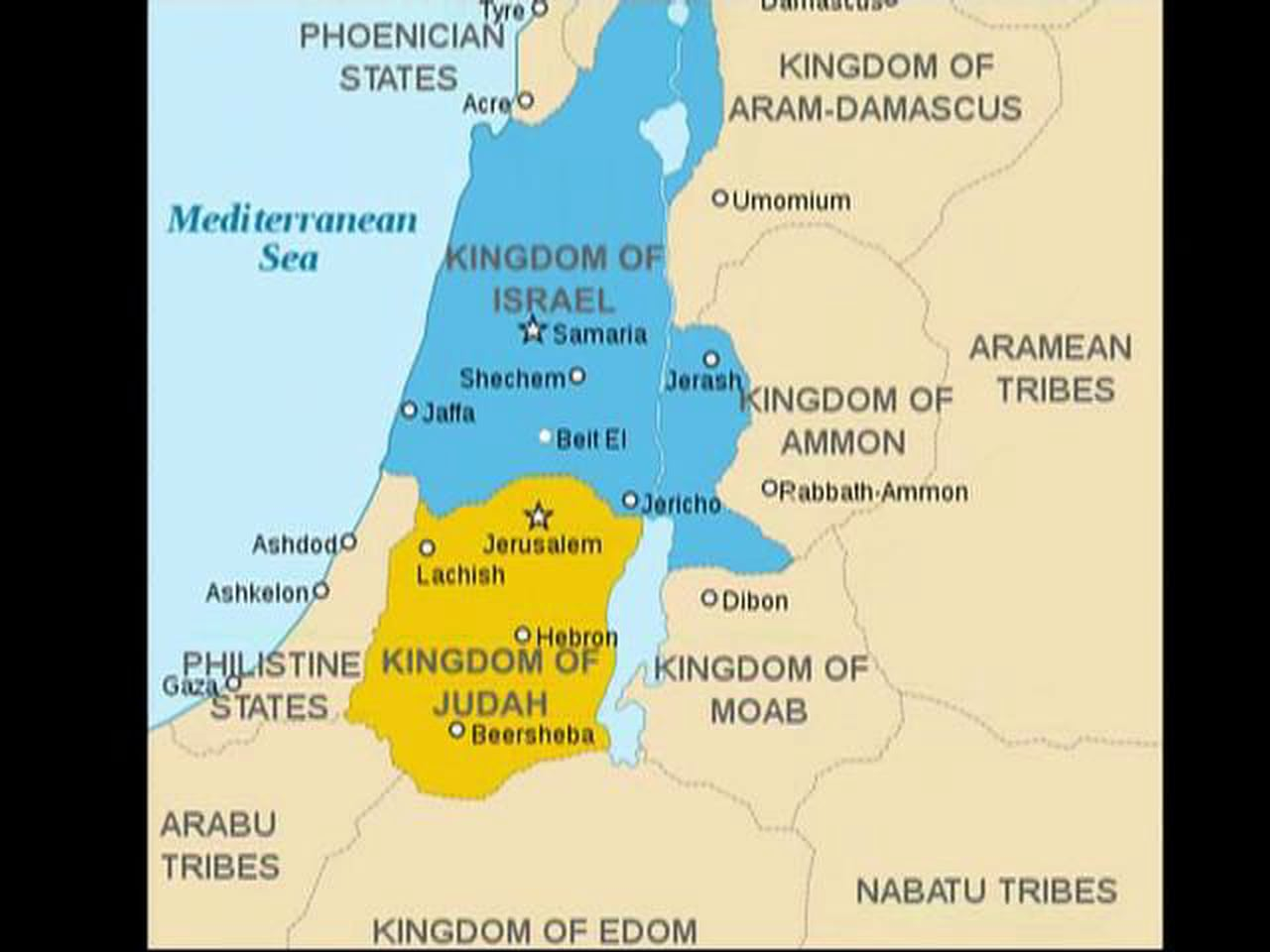 Why Did Israel Split into Two Kingdoms