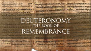 Deuteronomy Chapter 19 Summary