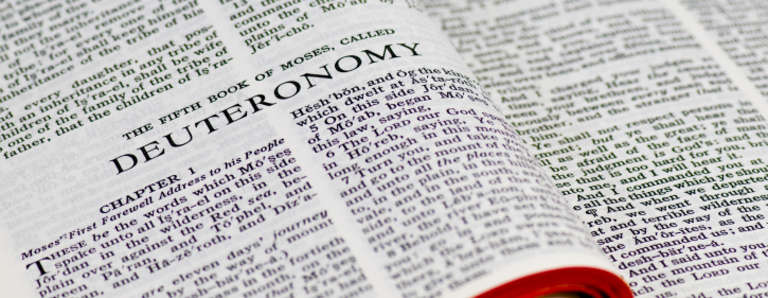 Deuteronomy Chapter 1 Summary