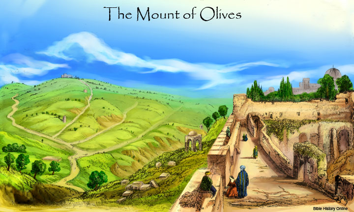 Zechariah and the Mount of Olives