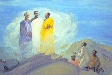 Moses and Elijah Were Seen in a Vision