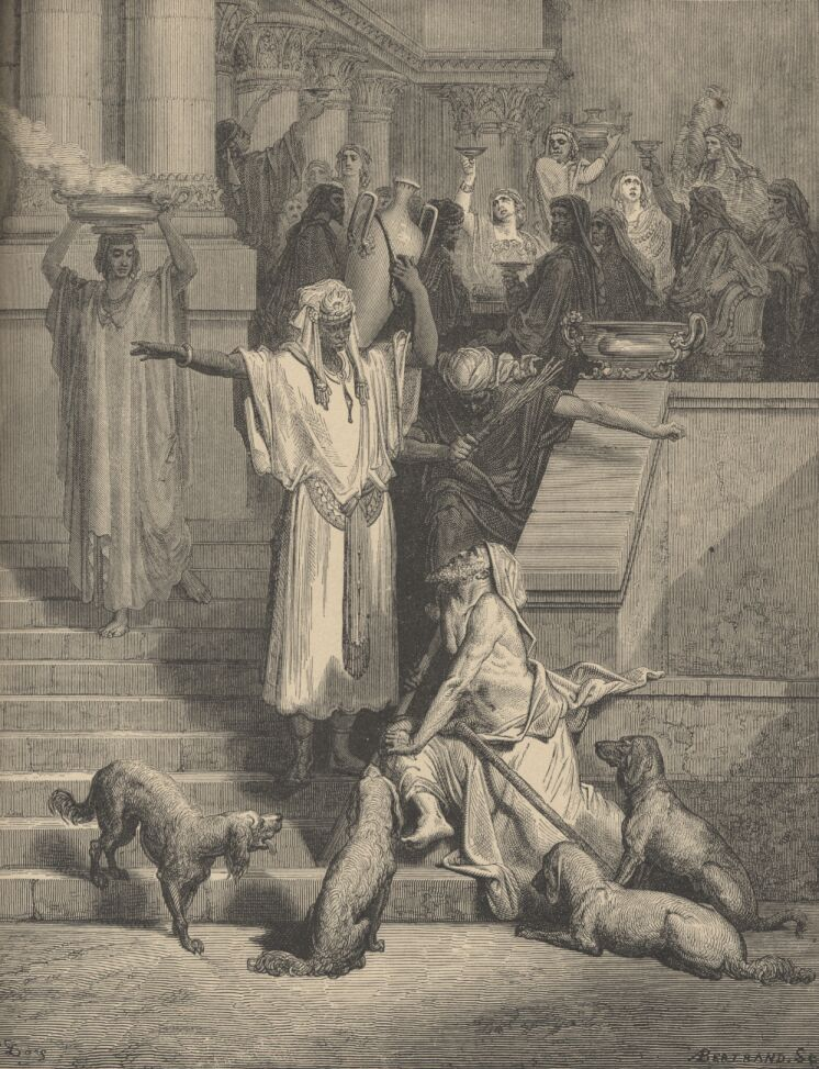 Abraham's Bosom and Lazarus