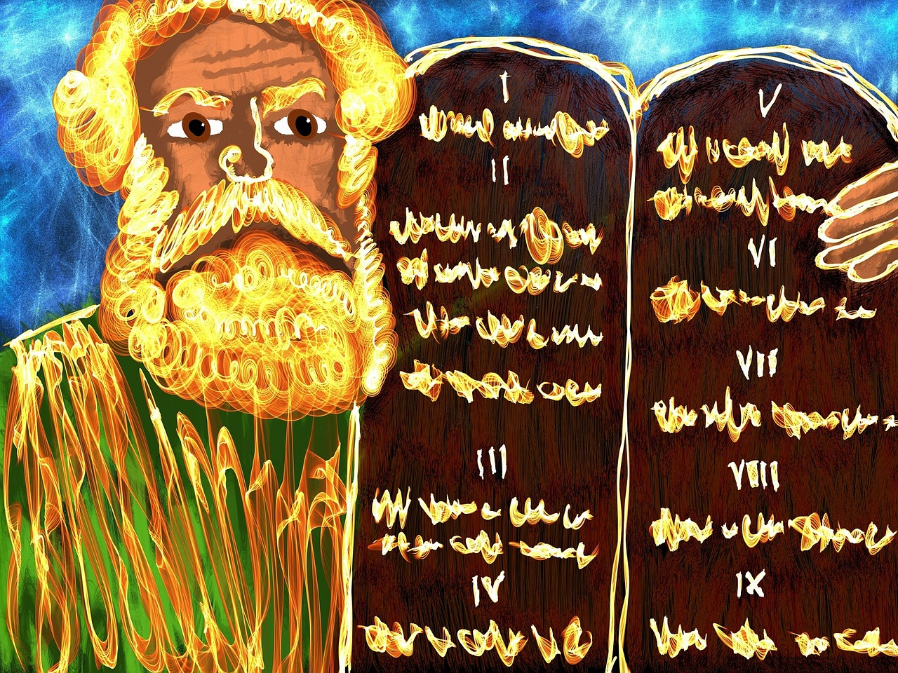 Moses and the sons of Kohath