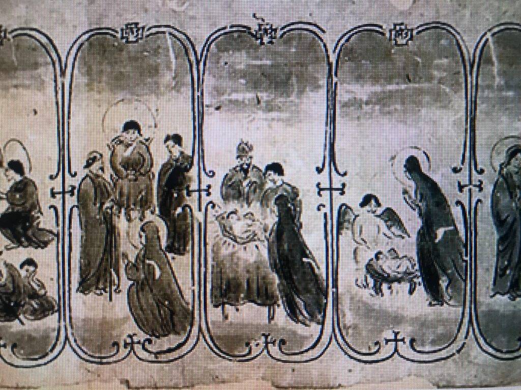 Japanese Scroll of Christian Worship in 16th Century Discovered
