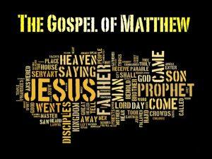 Matthew Chapter 8